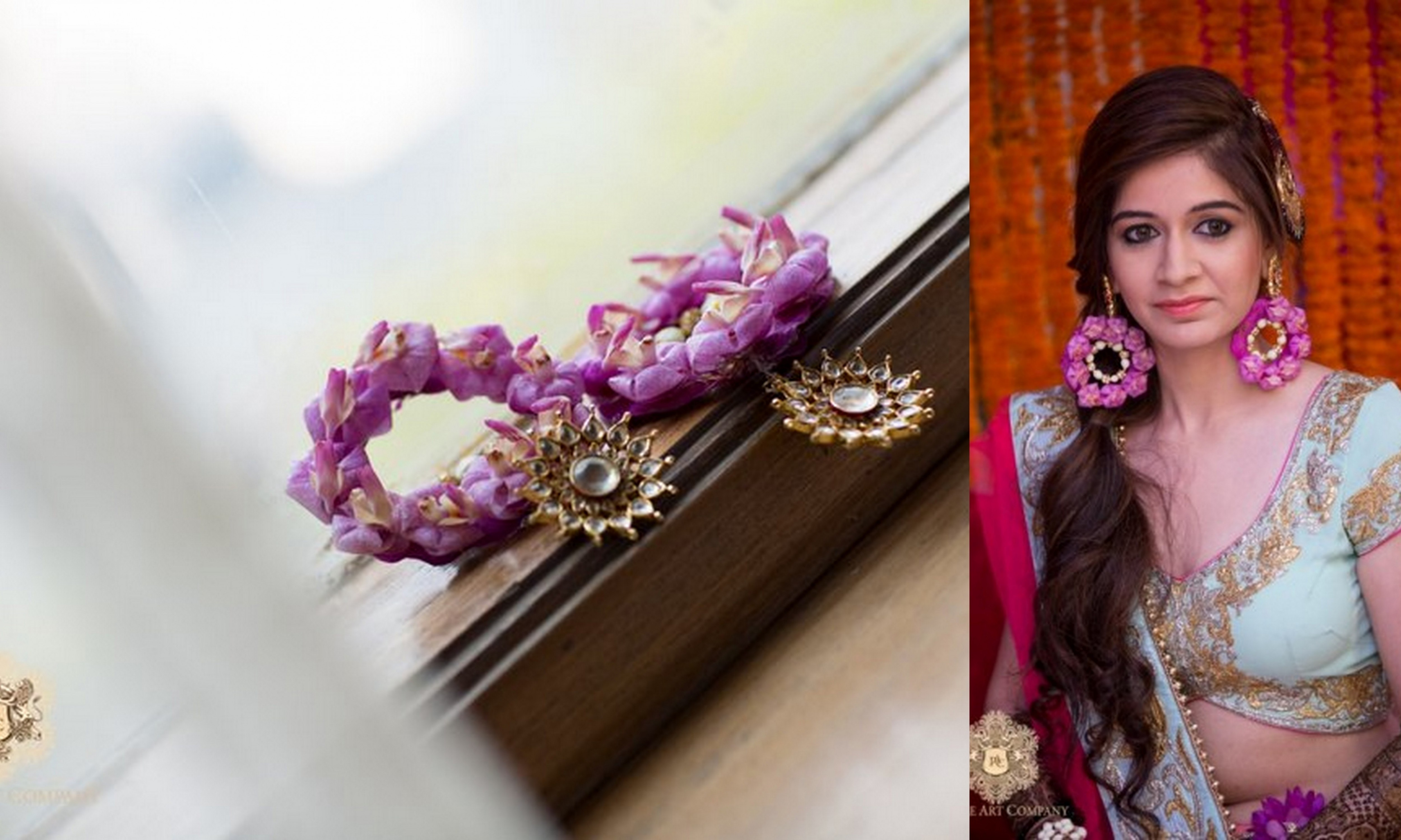 I Mehndi Flower Jewelry : Style trend floral jewellery edmonton invogue weddings and events