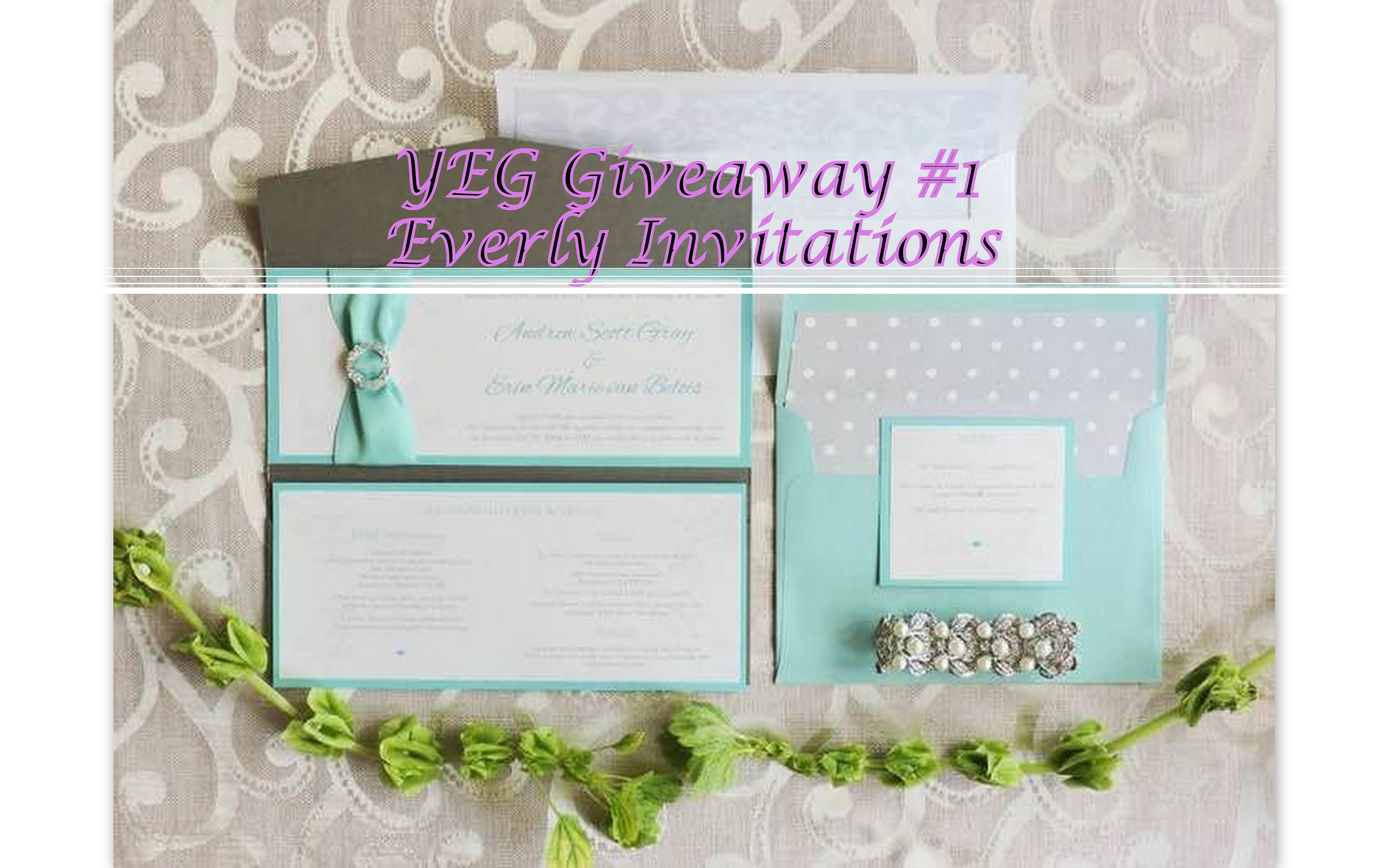 Everly Invitations